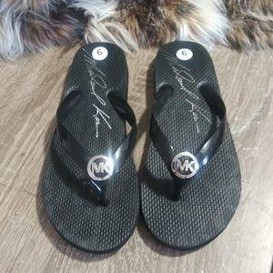 Michael Kors Flip Flops-EUC